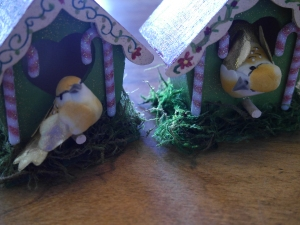 Finished project and the new inhabitants looked pleased with their new abode!